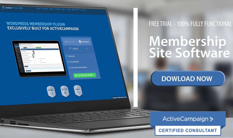 activemember360 wordpress membership plugin