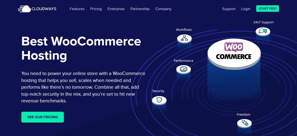 Best WooCommerce Hosting CloudWays