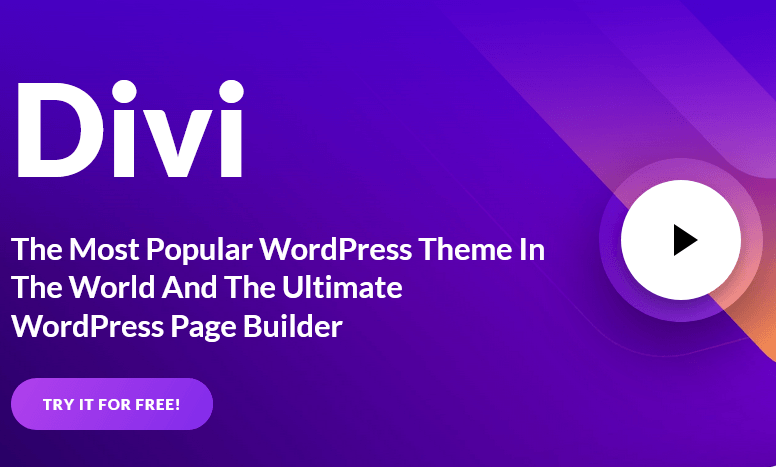 Divi Page Builder WordPress