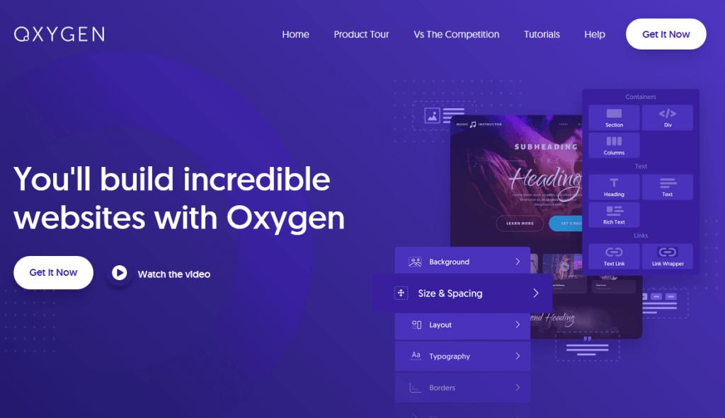 oxygen builder vs elementor