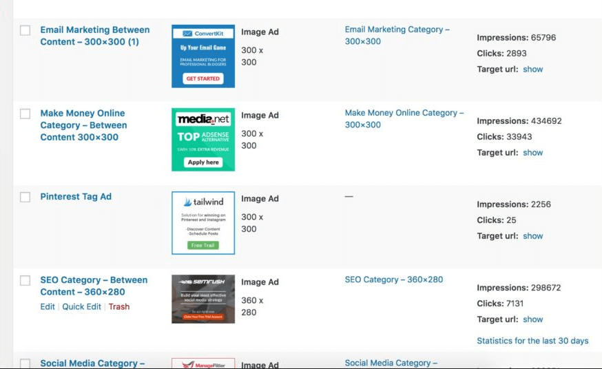 Best WordPress Ads Plugin For Advertising Management