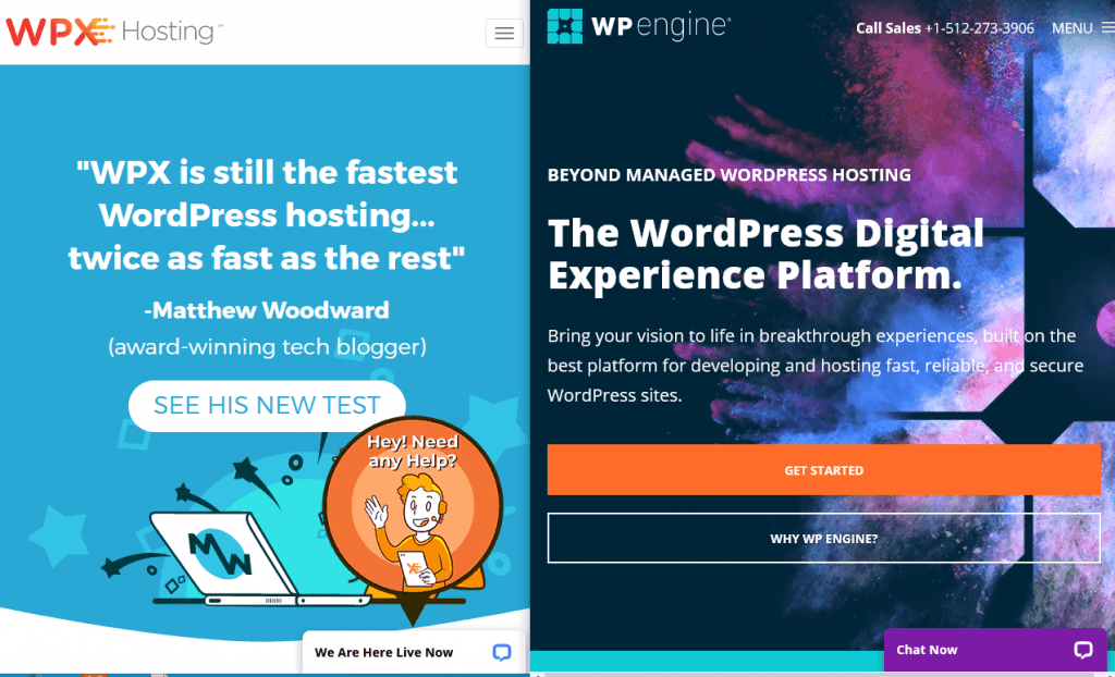 WPX Hosting Vs WP Engine?