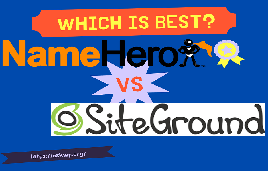 namehero vs siteground